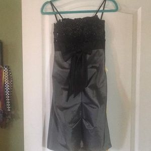 Grey and Black Formal Size 5